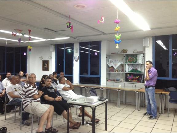 סדנת הופעה מול תקשורת לתושבי דרום תל אביב