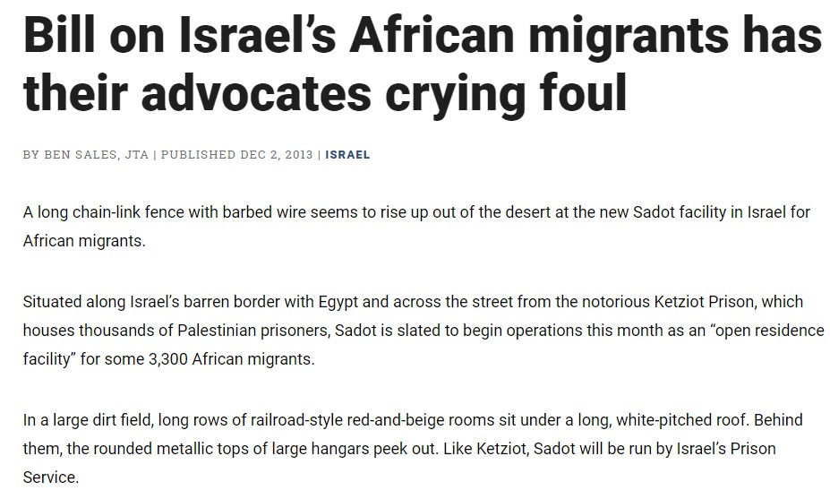 Bill on Israel's African migrants has their advocates crying foul
