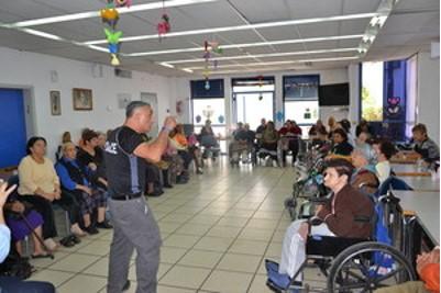 סדנת ביטחון אישי לנשות דרום תל אביב